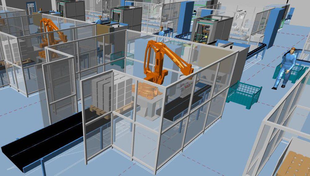 Logiciel de conception et d'aménagement industriel 3D : MPDS4