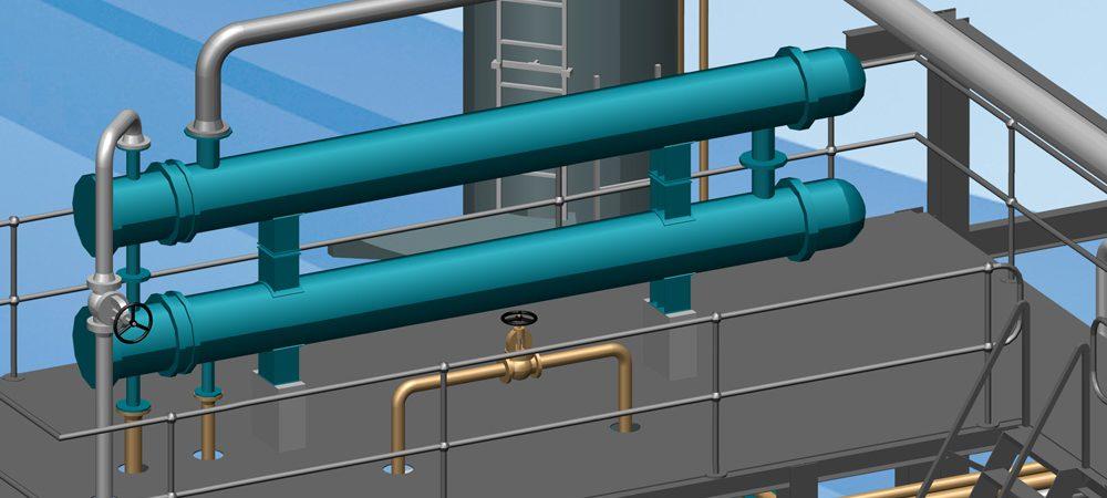 Solution 3D complète pour la conception et l'implantation industrielle