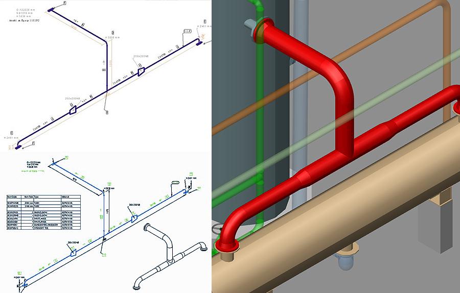 Logiciel-Conception-Usine-MPDS4-06-Isometriques-Tuyauteries