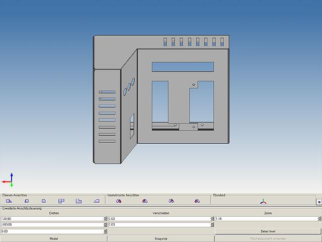 Conception Tôlerie 2D/3D - MEDUSA4 SMD