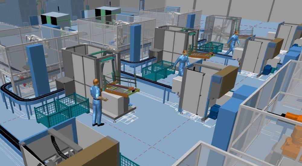 Conception d'usine 2D/3D Intégrée avec MPDS4