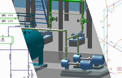 Diagrammes P&ID tuyauterie et isométriques en une seule solution