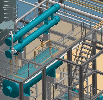 Intelligente 3D-Anlagenbausoftware