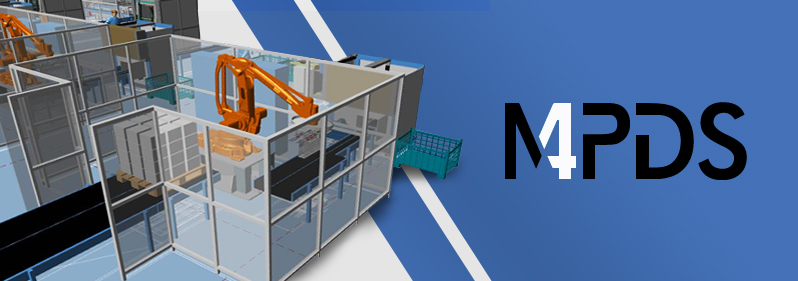 3D Maschinenaufstellung und Fabrikplanung