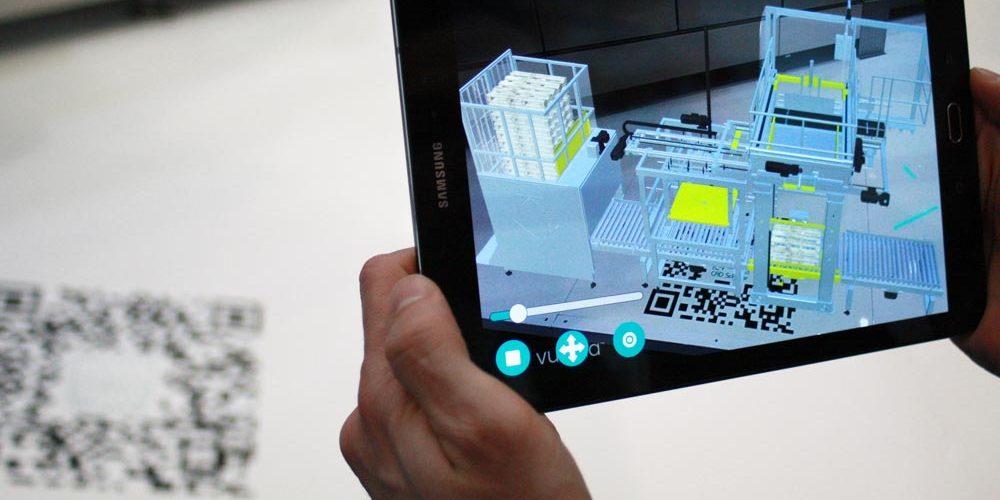 Agrandir de façon numérique un stand d'exposition avec RA et RV