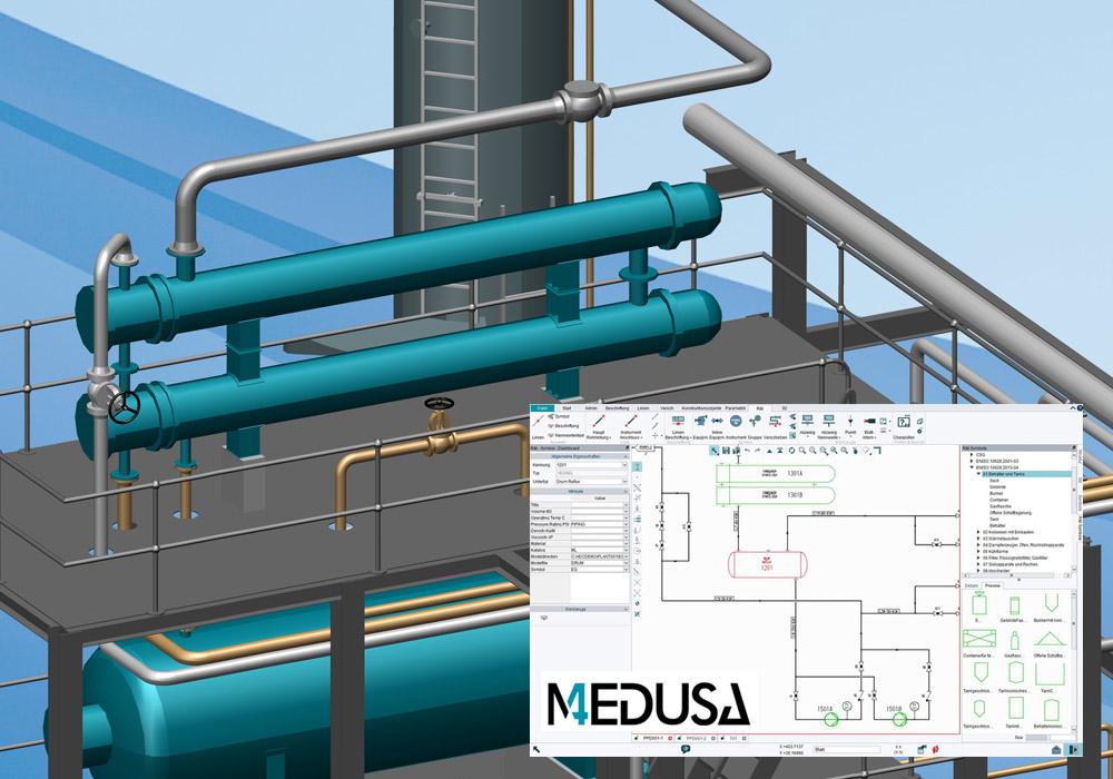 Logiciel P&ID pour la recherche et la planification d'usines innovantes