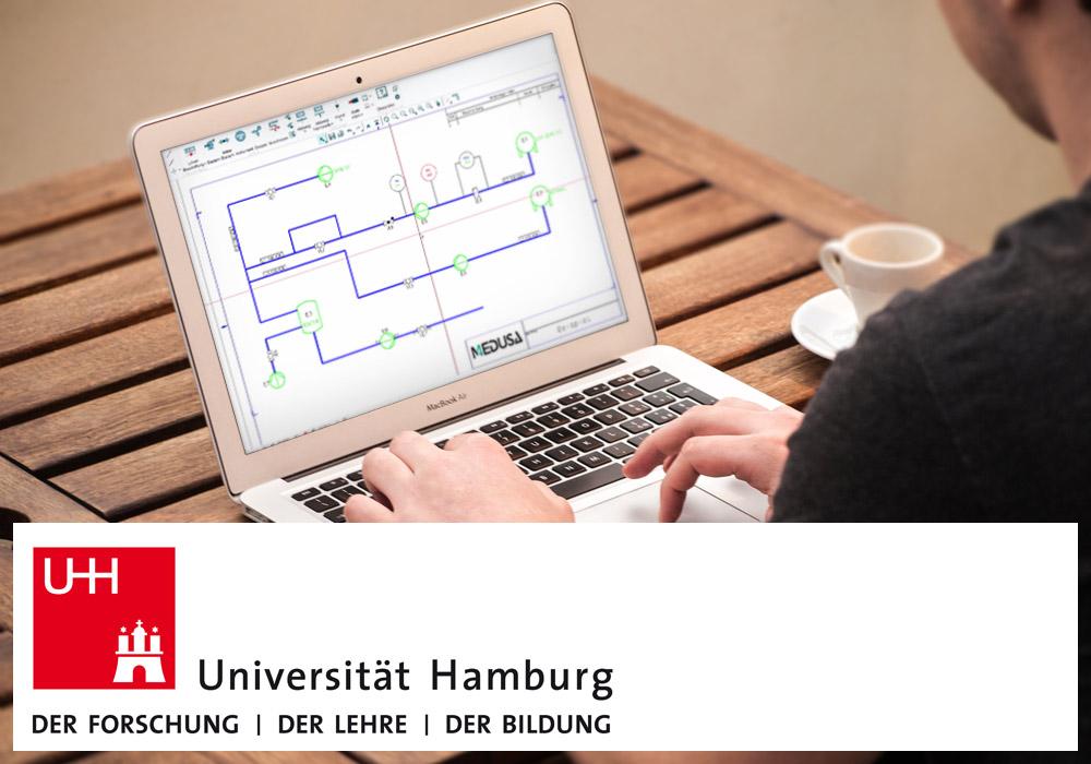 Logiciel P&ID pour l'université de Hambourg