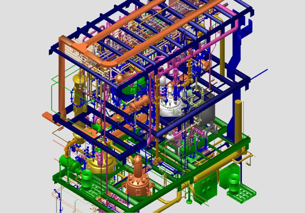 Le concepteur d'installations WSP CEL réalise des installations de process 3D avec MPDS4