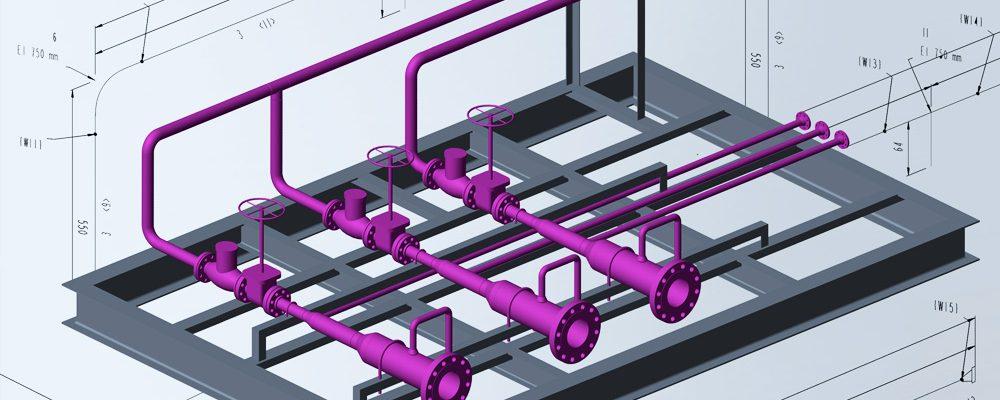 Génération rapide et automatique d'isométriques de tuyauteries