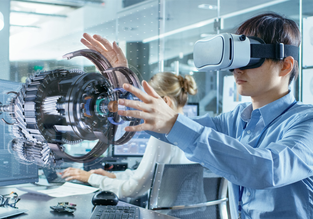 Déplacez facilement les différentes pièces du modèle dans le réalité virtuelle