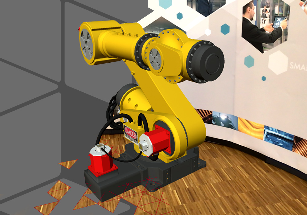 gratuite application RA de CAD Schroer
