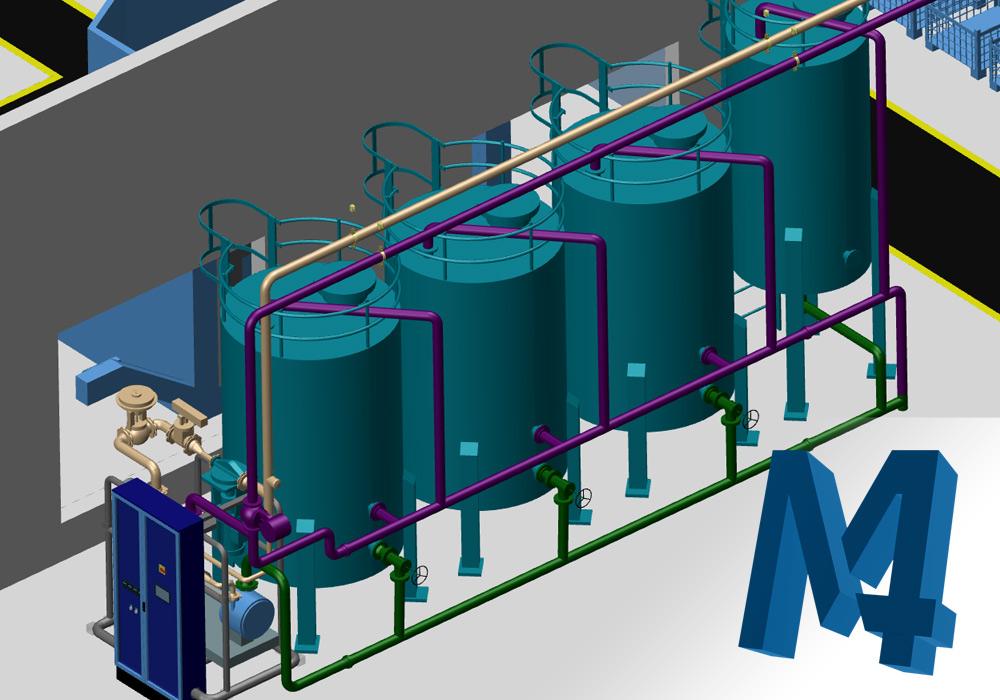 M4 PLANT : Pour les professionnels de la conception d'usines et d'installations