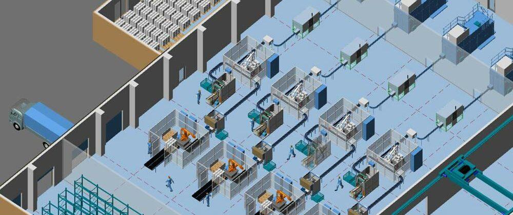 Implantation d'usine erreur n°1 :  ne pas utiliser la conception 3D
