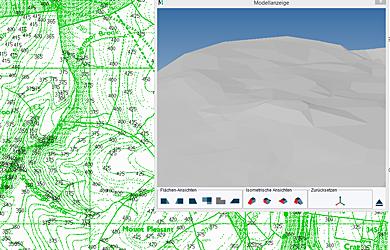 3D Digital Terrain Modeller