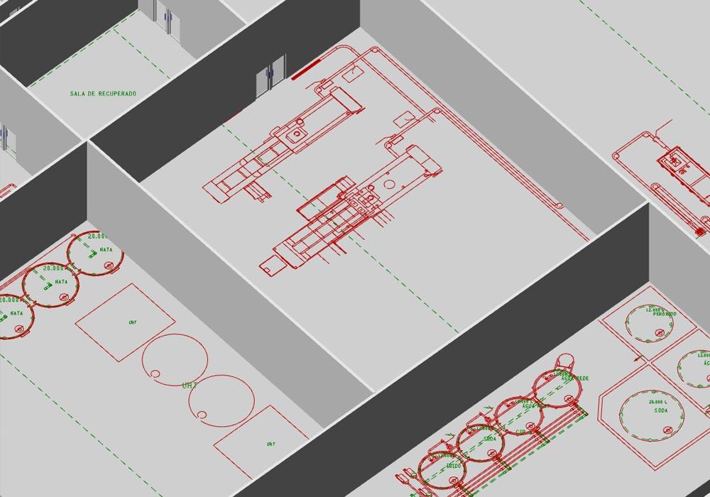 La conception d'usine en 3D offre d'énormes avantages