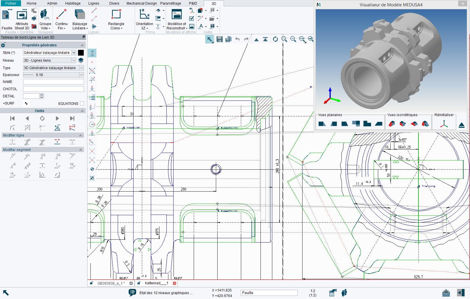 Modélisation CAO 3D