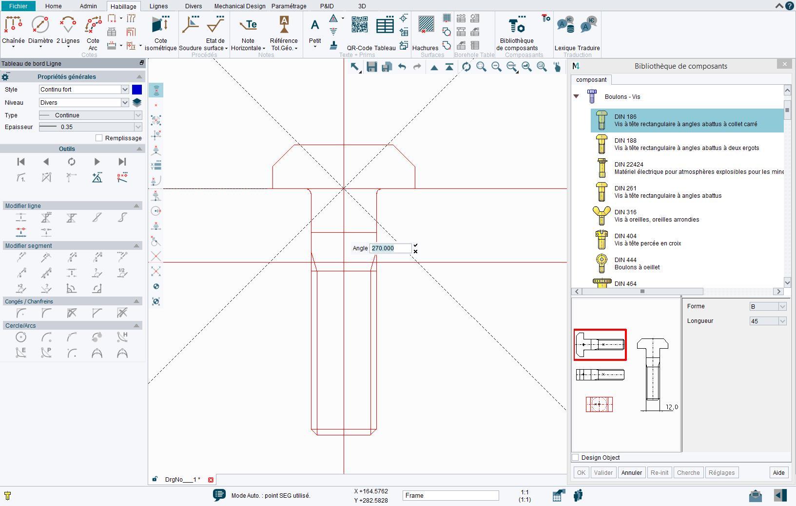 Bibliothèque de composants CAO normalisés pour une conception plus rapide