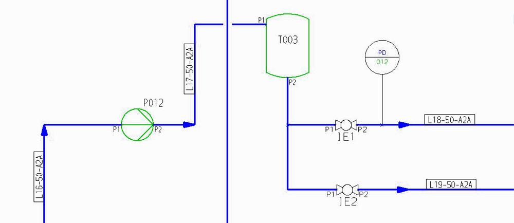 Ingénierie de procédés facile avec diagrammes P&ID Intelligents