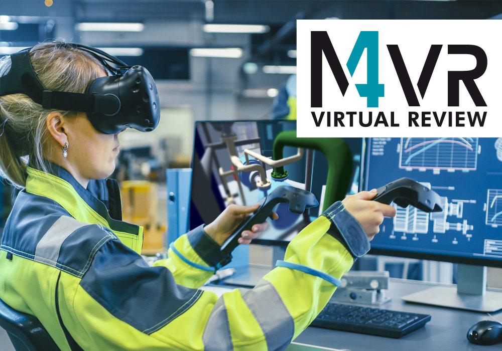 Une expérience de RV performante avec M4 VIRTUAL REVIEW