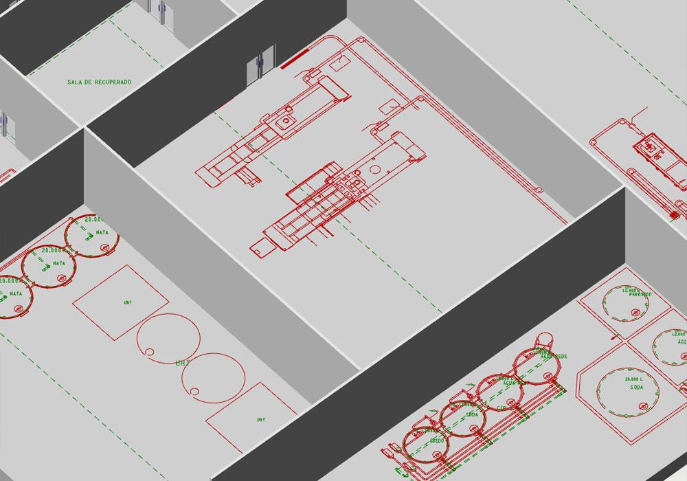 La voie vers une usine virtuelle conduit de l'installation 2D à la planification 3D