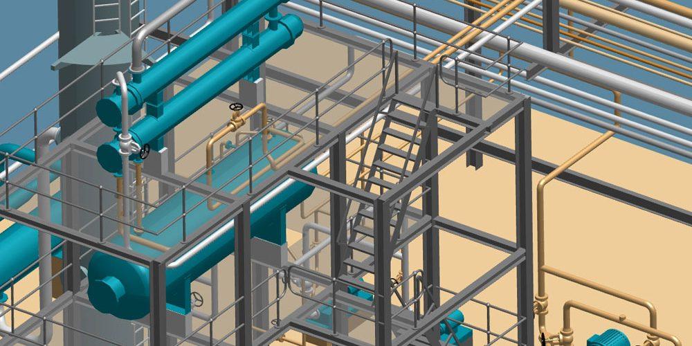 Planification 3D indépendante de la taille dans la construction d'usines